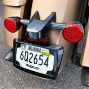 License Plate Frame in Black or Chrome