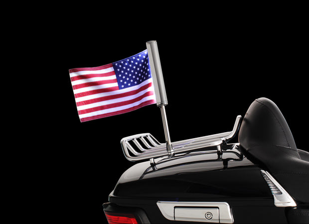 "Flag Mount for 1/2"" Diameter Tube Style Luggage Racks"