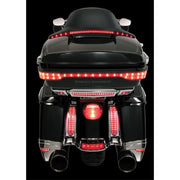 Ciro Center Led Brake Light For Harley-Davidson Tour-Pak In Chrome Or Black