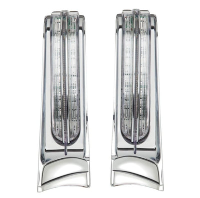 Ciro Filler Panel Lights In Chrome Or Black / 14-Up Electra Glide Ultra