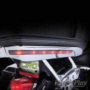 Ciro Led Light Accents For Harley-Davidson Tour-Pak In Chrome Or Black