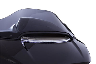 Ciro Lighted Vent Trim For Road Glide In Black Or Chrome