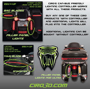 Ciro Tour Blade Led Tour-Pak Lighting
