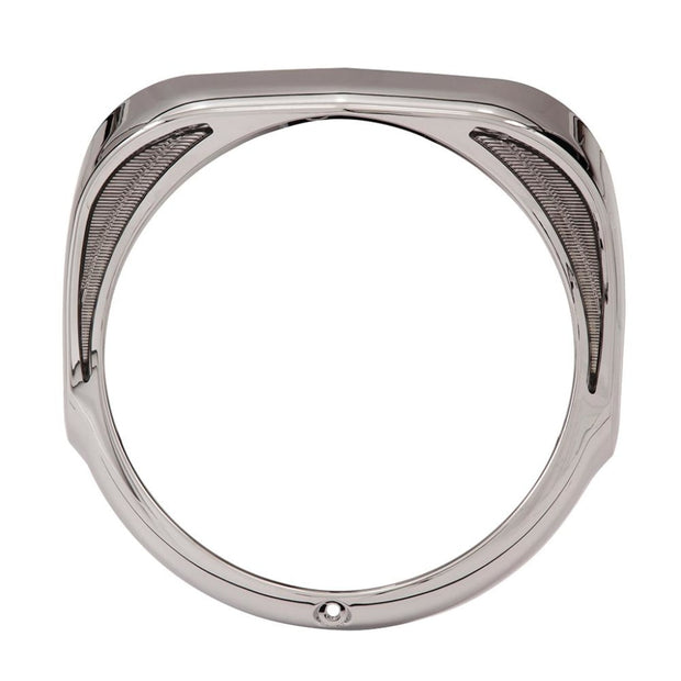 Fang Led Headlight Bezel In Chrome Or Black / 14-Up Ciro