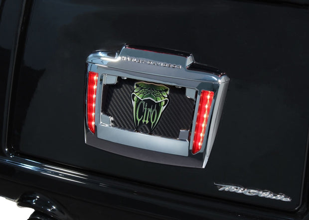 Lighted License Plate Frame Holder For Tri Glide® (Coming Soon) Ciro
