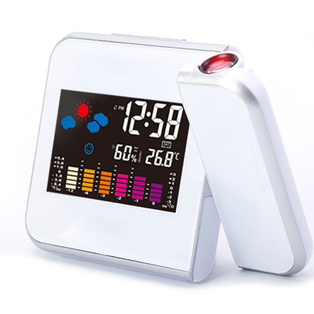 Time Watch Multi Function Digital Alarm Clocks Color Screen