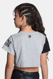 Sylvia P - Little Miss Squad Cropped Tee