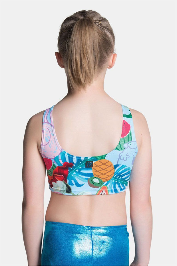 Sylvia P - Little Miss Tropical Cropped Singlet