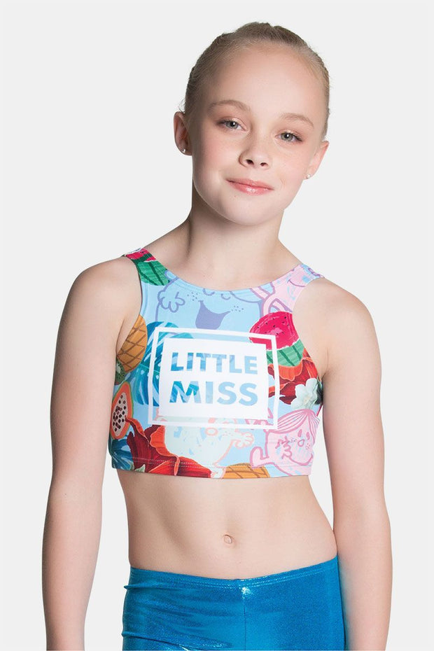 Sylvia P - Little Miss Tropical Cropped Singlet Dancewear