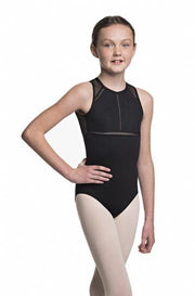 Ainsliewear - Girls Coco with Kara LaceDancewearChild SmallBlack