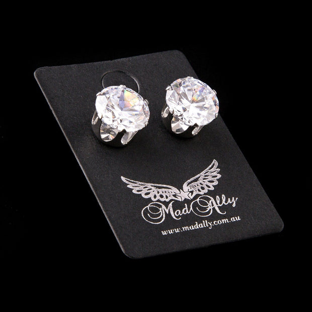 Mad Ally Diamante Earrings