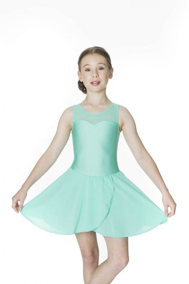 Studio 7 - Mesh Lyrical DressDancewearchild-x-smallBlack