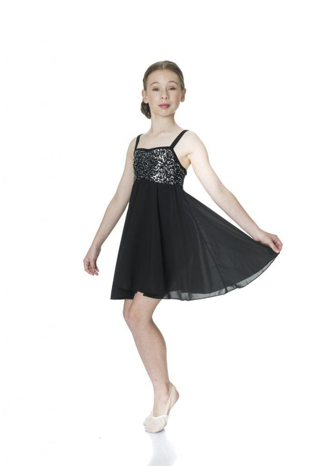 Studio 7 - Sequin Lyrical DressDancewearchild-smallBlackone size
