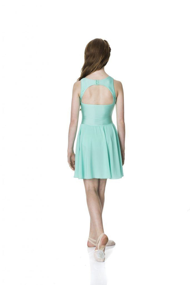 Studio 7 - Mesh Lyrical DressDancewearadult-smallWhite