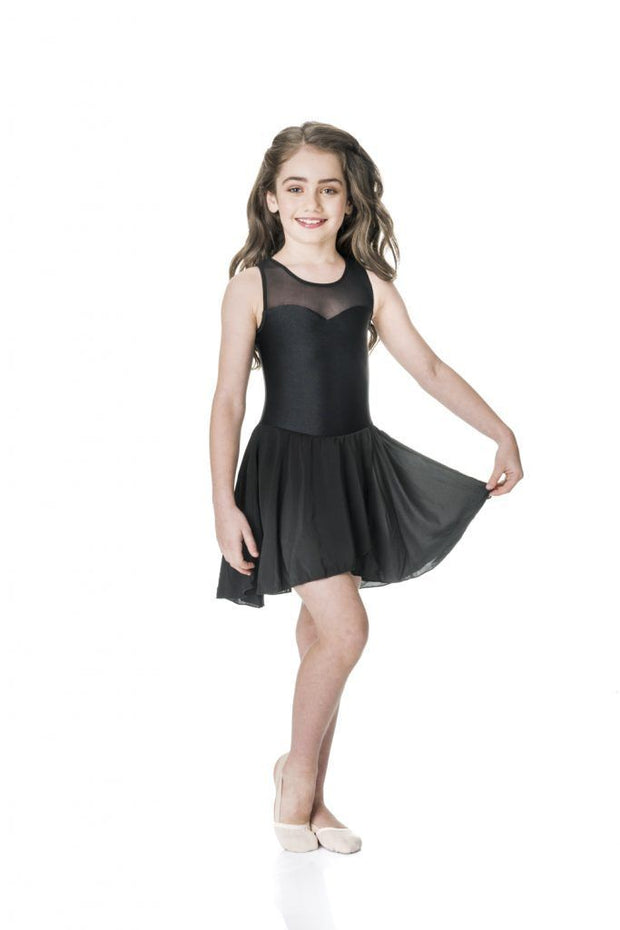 Studio 7 - Mesh Lyrical DressDancewearchild-smallCoral