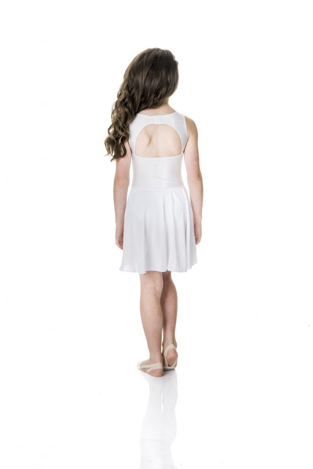 Studio 7 - Mesh Lyrical DressDancewearchild-x-smallWhite