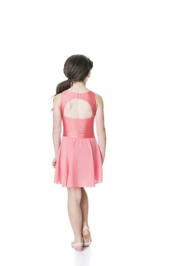 Studio 7 - Mesh Lyrical DressDancewearchild-x-smallCoral