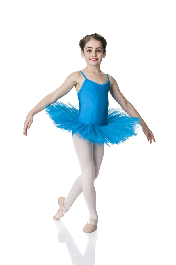 Studio 7 - 4 Layer Tutu (Multiple Colours Available)DancewearTurquoiseChild X-Small