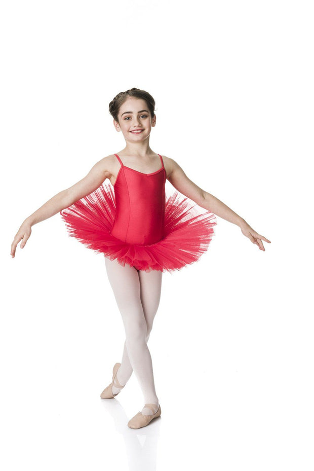 Studio 7 - 4 Layer Tutu (Multiple Colours Available)DancewearRedChild X-Small