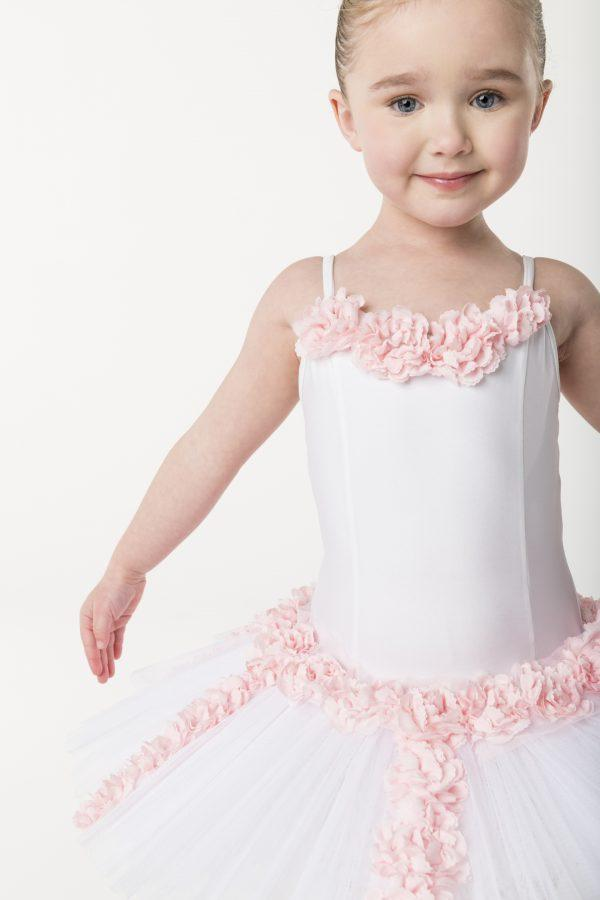 Studio 7 - Pretty Petals TutuDancewearchild-x-smallPale Pinkone size