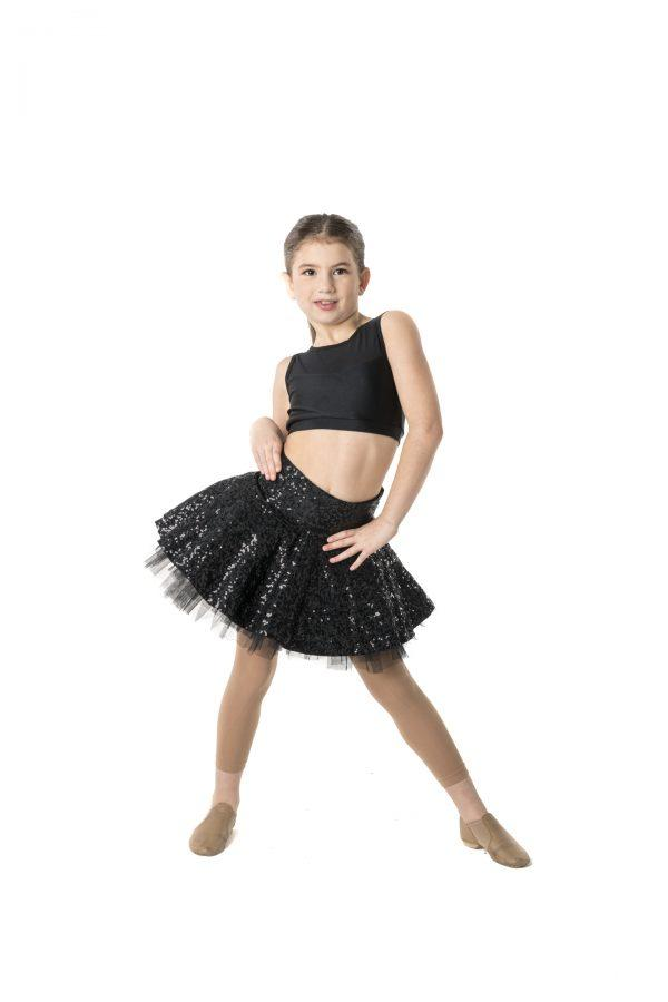 Studio 7 - Sequin Skater SkirtDancewearchild-x-smallHot Pinkone size