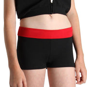 Bloch Roll Down Girls Short (DF5803G)