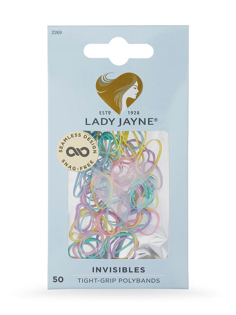McPhersons - Lady Jayne Invisible Polybands Coloured Accessories Aspire Dance Collections
