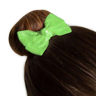 Bloch - Glittered Ribbon Hair Bow