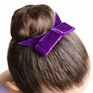 Haircomb Velvet Bow