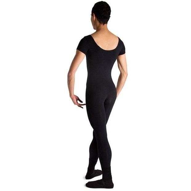 Bloch - Matt Scoop Neck Cap Sleeve Mens Unitard (U3472M)
