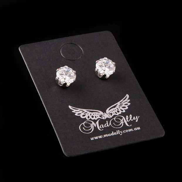 Mad Ally Diamante Earrings Jewellery
