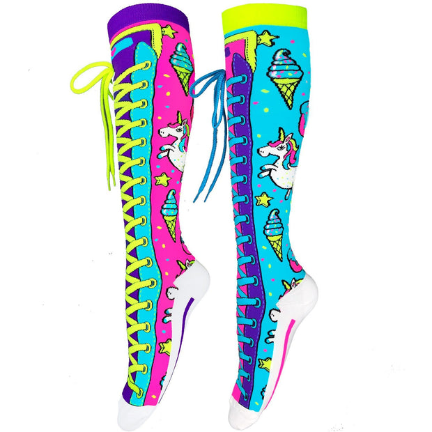 MadMia - UNICORN SOCKS Dancewear Crazy Socks
