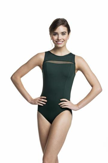 Ainsliewear - Paige with Mod DotDancewearChild SmallHunter Green