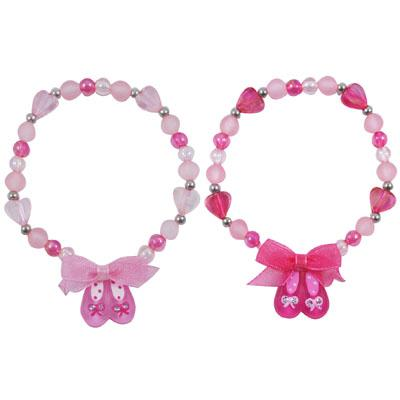 Pink Poppy - Pretty ballet shoe bracelet Accessories Aspire Dance Collections