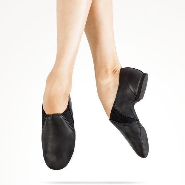 MDM - Protract Leather Jazz Shoe ( Child Shoe Type ) Dance Shoes