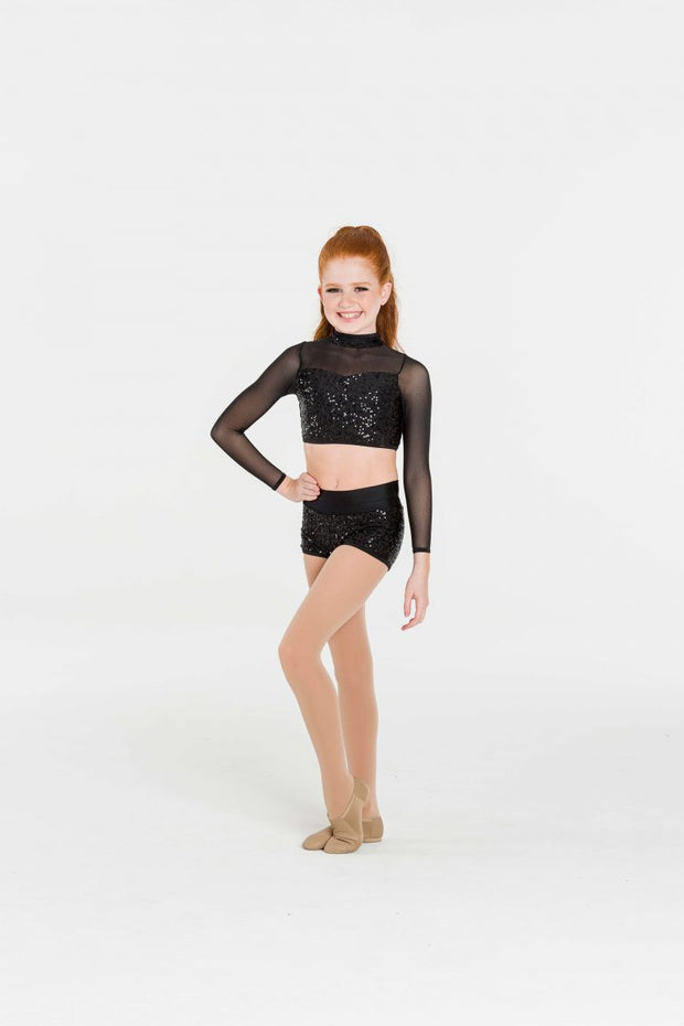 Studio 7 - Down Town Long Sleeve Crop (Child) (CHCT10)
