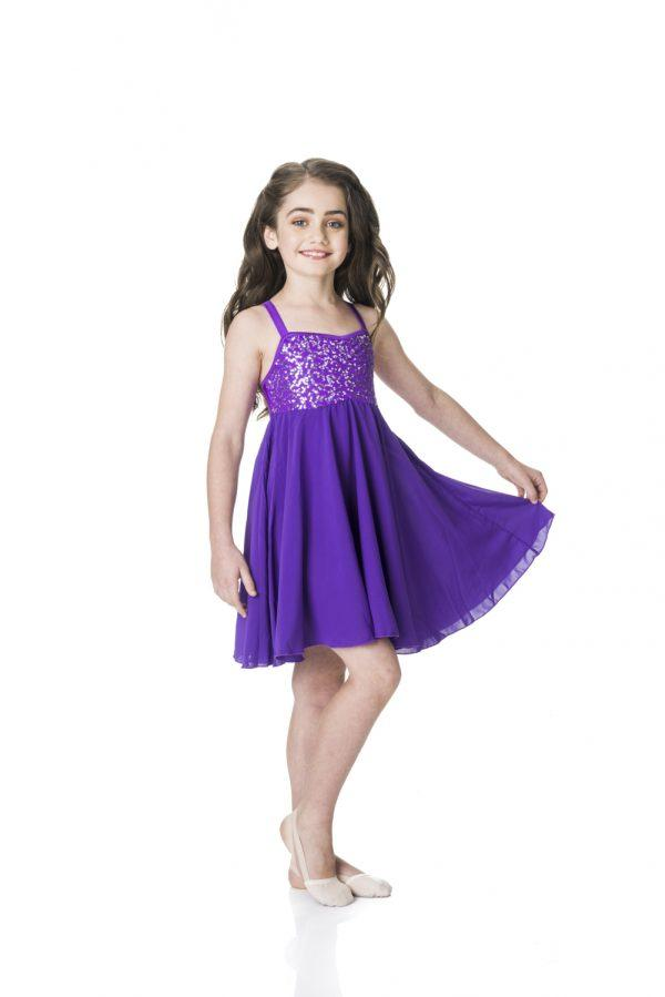 Studio 7 - Sequin Lyrical DressDancewearchild-smallTurquoiseone size