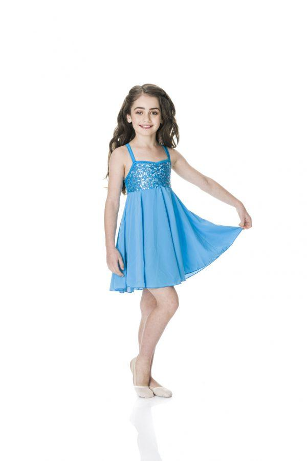 Studio 7 - Sequin Lyrical DressDancewearchild-smallHot Pinkone size