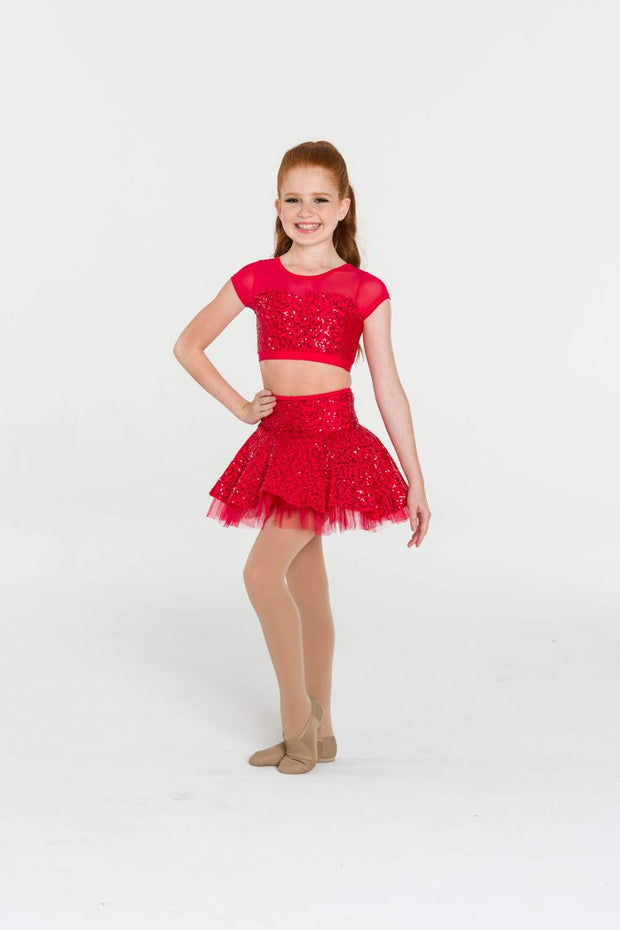 Studio 7 - Sequin Skater Skirt (Child) (CHSK10)