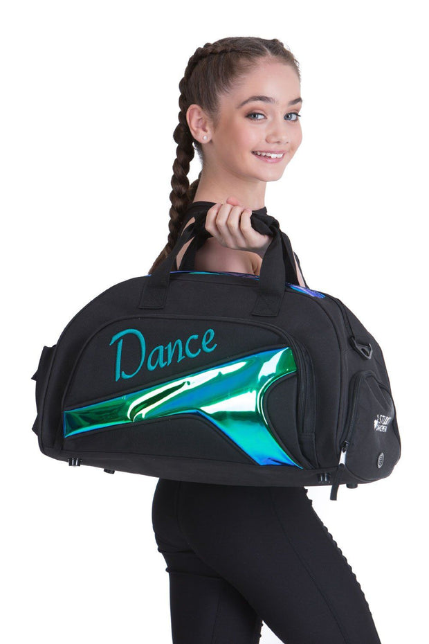 Studio 7 - Mini Duffel BagAccessoriesdanceHolographic Green