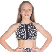 Cosi G - Sweet and Sassy Divine Crop TopDancewearChild 8Black Daisy