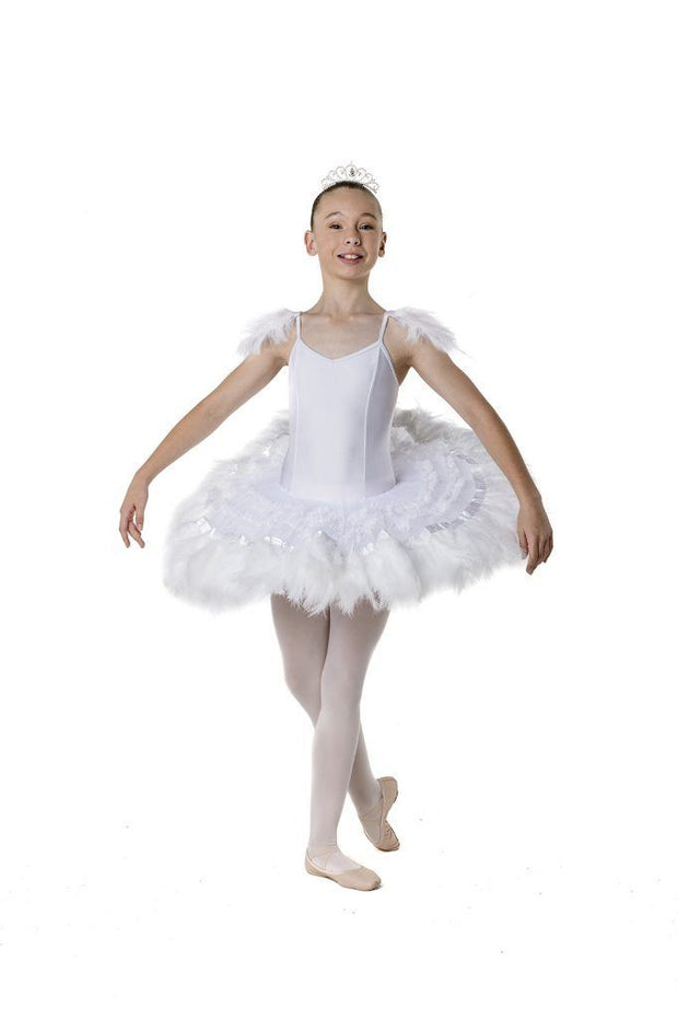 Studio 7 - Feather Frills TutuDancewearchild-x-smallWhiteone size