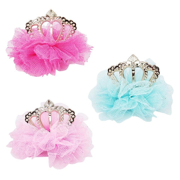 Pink Poppy - Miss princess tiara hairclip Accessories Aspire Dance Collections
