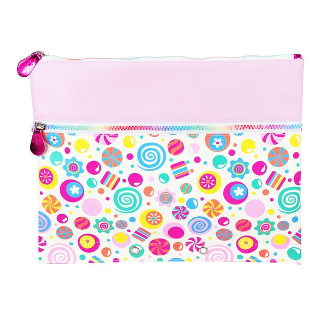 PinkPoppy - Land of candy pencil case-pinkAccessoriesDefault Title