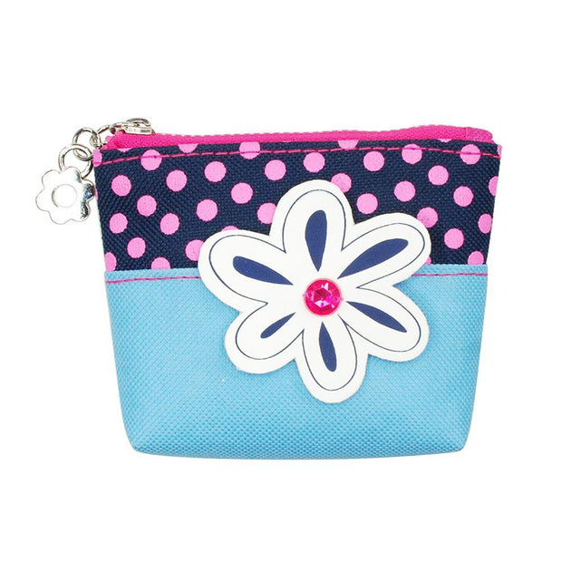 PinkPoppy - Imagination coin purse-blueAccessoriesDefault Title