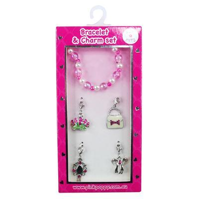 PinkPoppy - Princess charm bracelet setAccessoriesDefault Title
