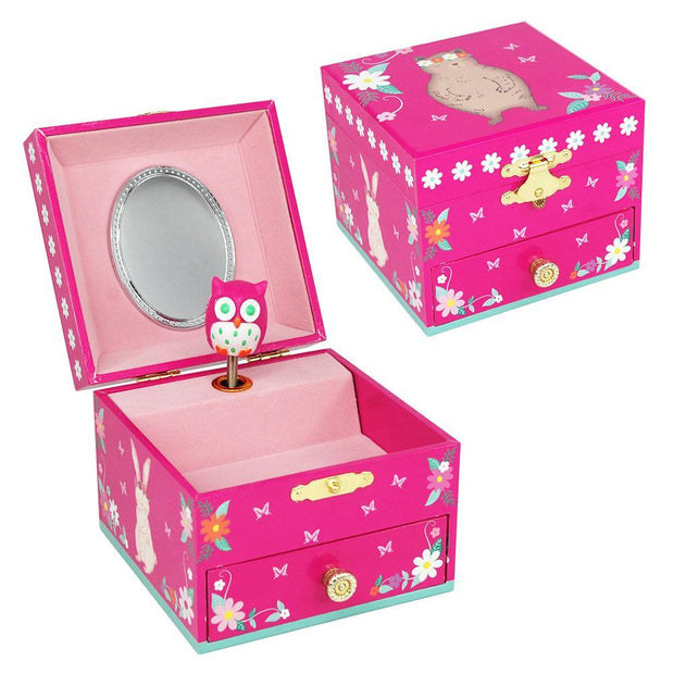 PinkPoppy - Into the woods small music box-hpinkAccessoriesDefault Title