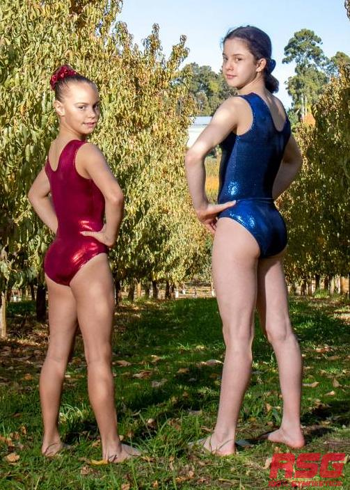 RS Gymwear -RSG-455 Sleeveless Leotard - Navy Royal
