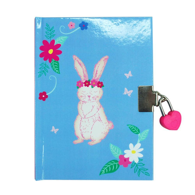 PinkPoppy - Into the woods bunny diary-blueAccessoriesDefault Title