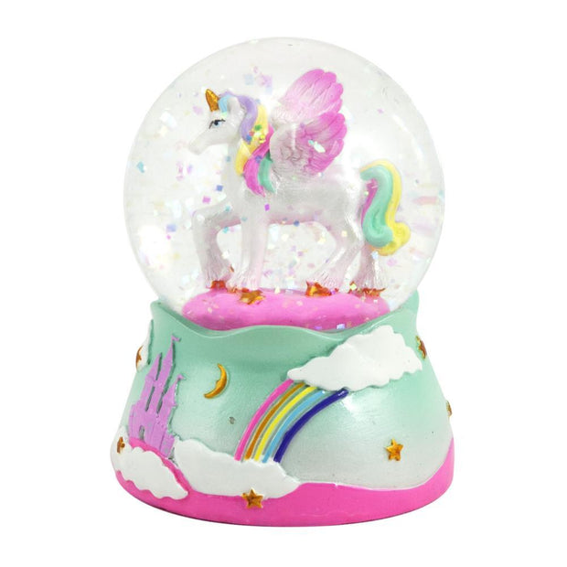 PinkPoppy - Unicorn small snow globeAccessoriesDefault Title